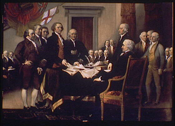 george washington thomas jefferson and john adams created stable government after the constitution