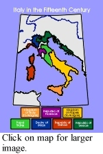 End Of Europe S Middle Ages Italy S City States